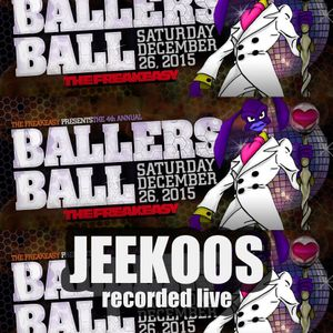 Jeekoos @ FreakEasy Ballers Ball, Chicago, 12.26.2015