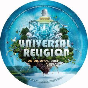 DjSet @ Universal Religion Nepal 2013
