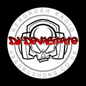 djDEVASTATE Live Jump Up DnB Headrush Radio 8th March 2016