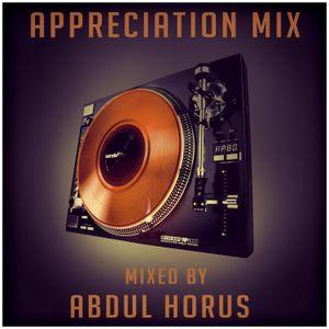 Appreciation Mix By Abdul Horus