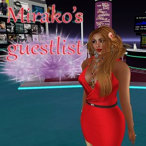 The Guest List of the month at LCC with music chosen by Mirako (Mixed by DJ PJ)