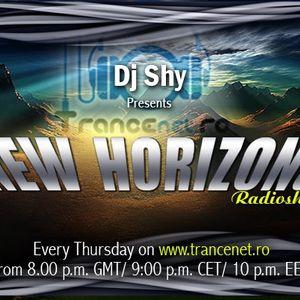 Dj Shy presents New Horizons 004 @ Trancenet.ro