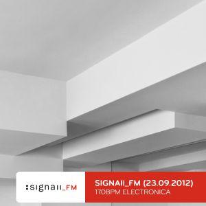 SIGNAll_FM - 170BPM Electronica Special Vol.1 (2012) (Voiceless)