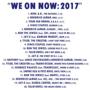 """""""WE ON NOW: 2017"""""""