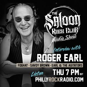 The Saloon Rock Club - January 17, 2019 -- Interview with ROGER EARL