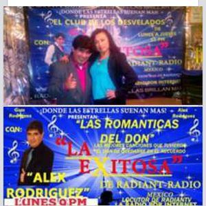 Las romanticas del Don con Alex Rodriguez invitada Maleny Ceron 20-07-15