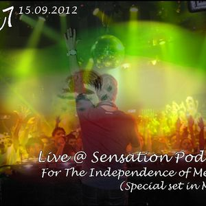 Cesc7 - Live @ Sensation Podcast For The Independence of Mexico (15.09.2012)