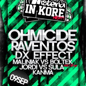 DX-effect @ Histeria in Kore night! 09/09/2011