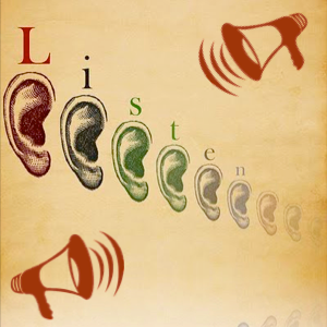 Listen! Can You Hear? Listen with your third ear.