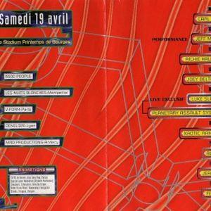 Planetary Assault System LIVE - Hexagona 97 - Printemps de Bourges (19/04/1997)