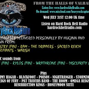 Heavy Rock Rapture July 31