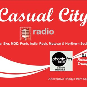 Casual City Radio Show from 15th July 2016