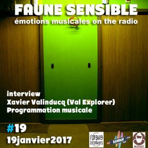 Faune Sensible#19 du 19 Janvier 2017