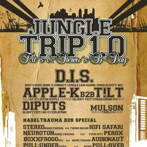 Apple-K b2b T!LT & Dubwiser MC @ JungleTrip 1.0 (14.05.11/Sächsicher BHF Gera)