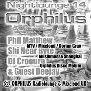 Phil Matthew @ Orphilus Nightlounge 14 (31.12.2014)