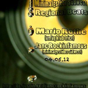 TECHNO MIX PART 2 JANE ROCKINFAMOUS AFTER HOUR 05.05.12