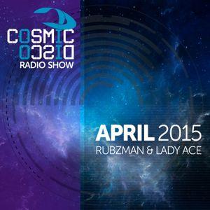 Cosmic Disco Radioshow - APRIL 2015