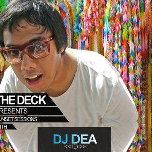 Sunday Sunset Session @ The Deck - Nusa Lembongan | DJ DEA 2015