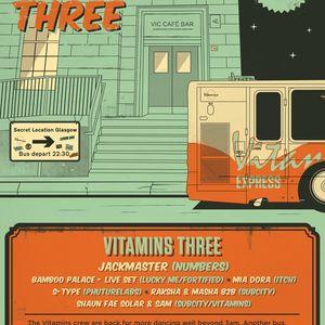 live at Vitamins 3