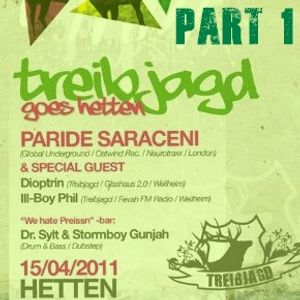 Paride Saraceni - Live from Hetten club, Munchen - 15-04-11
