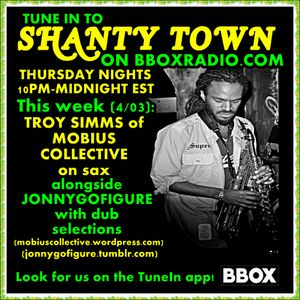 "Shanty Town: Interview and session with Troy ""Mobius"" Simms (feat. JonnyGoFigure)"