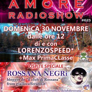 LORENZOSPEED present AMORE Radio Show Domenica 30 Novembre 2014 con ROSSANA NEGRi MARTA MAX part 1