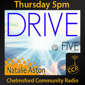 Thursday Drive at Five - @CCRDrive - Ryan & Natalie - 13/08/15 - Chelmsford Community Radio