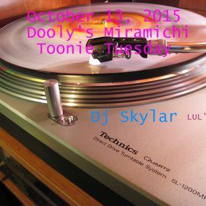 October 13, 2015 Dooly's Miramichi Toonie Tuesday Dj Skylar Part I
