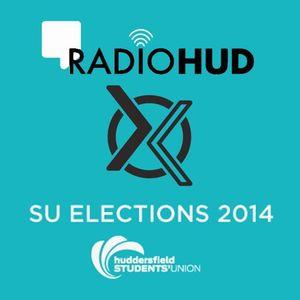 In-Studio Debates | Students' Union President | Huddersfield SU Elections 2014 | Radio Hud