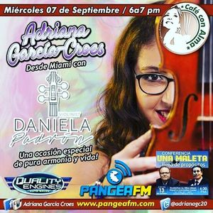 Cafe Con Alma (09/14/2016) Con nuestra invitada Daniela Padron