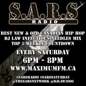 """DJ LAW """"INFECTIOUS NEEDLES MIX"""" MARCH 26 2016 #SarsRadio"""