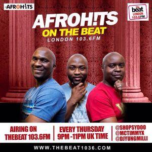 #AfrohitsOnTheBeatLondon: @MCTimmyX @shopsydoo @DjYungMilli 28.04.2016 9-11pm