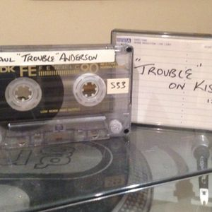 """Paul """"Trouble"""" Anderson . On Kiss FM 100  12/08/1995"""