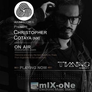 Huumcast014 Christopher Cotaya (Timing Agency) @ mixOne Radio