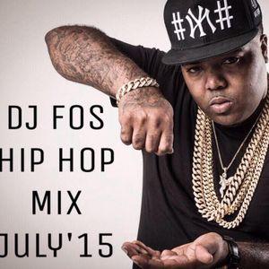 DJ FOS Hip Hop / RnB Mix July 2015 (Dawin, T-Pain,Liane V, Fatty Wap, 2Chainz, Chinx, French  )