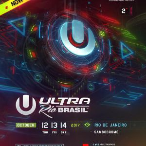 David Guetta @ Main Stage, Ultra Music Festival Brazil Rio de Janeiro 2017-10-14