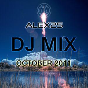 ALEX25 - Dj Mix October 2011