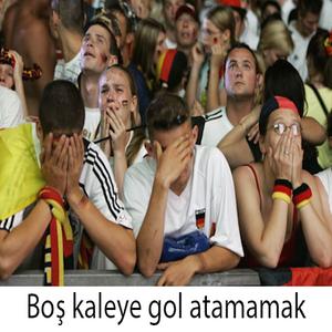 Pazar Filozofu - Boş Kaleye Gol Atamamak- 28 Haziran 2015