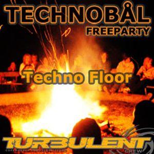 klaus boss (techno) - live @ turbulent freeparty, cph, dk  [20160318]