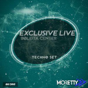 Exclusive Live / Boleita Center Techno Set - August 2015