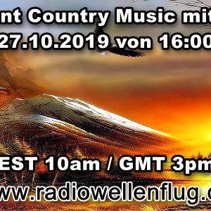 Independent Country Music mit DJ Nobby (www.radiowellenflug.de)(27.10.2019)