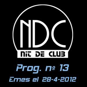 Nit de Club - prog. nº13 - 28/04/2012