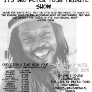 2011-09-10 KFM Radio - DJ Allen - Peter Tosh 3rd Radio Tribute