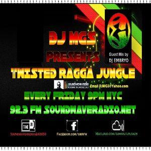 Dj.MGS Presents Twisted~Ragga Jungle_Guest Mix By DJ.Embryo Vol.8 'RaW-JaHunglE'
