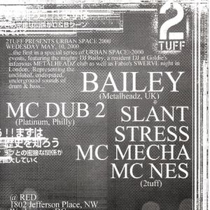 "Bailey w/ MC Dub2 ""Live at Urban Space"" part 1 (May 10, 2000)"