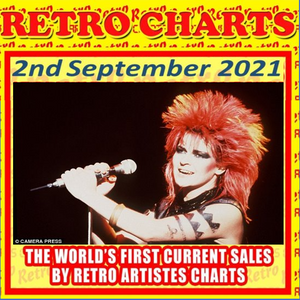 Retro Charts countdown - top 10 current hits by retro artistes - 2 Sept edition with Terry Hughes