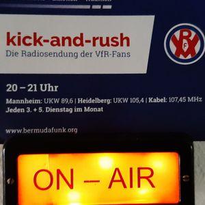 kick-and-rush 214 dtd. 29.10.2019