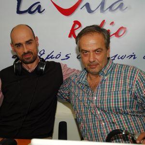"""Ο Συνθέτης ΓΙΩΡΓΟΣ ΚΑΓΙΑΛΙΚΟΣ,στην εκπομπή """"ON AIR"""" (24/10/15) στον www.lavitaradio.gr"""
