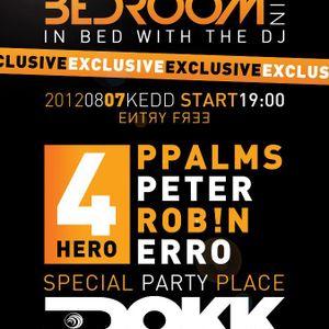Rob!n & PPalms Part 1. @ Orange Bedroom Night - 2012.08.07. - Tisza DOKK
