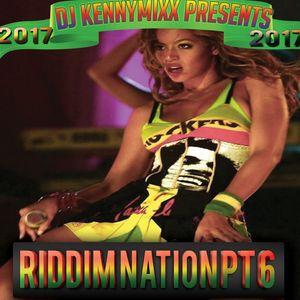 DJ KENNYMIXX - 2017 DANCEHALL RIDDIM MIX PT 6